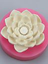 bakformen Blomma För Godis Choklad Tårta Annat Silikon Miljövänlig Thanksgiving Nyår Födelsedag Semester Teflonbehandlad