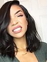 Ljudska kosa Perika pune čipke bez ljepila Full Lace Perika stil Brazilska kosa Tijelo Wave Perika 130% Gustoća kose s dječjom kosom Prirodna linija za kosu Afro-američka perika 100% rađeno rukom Žene