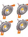 400-500 lm Takglödlampa Infälld retropassform lysdioder COB Bimbar Varmvit Kallvit AC 220-240V