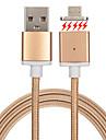 USB 2.0 Entrancado / Magnetica Cabo Samsung / Huawei / LG para 100 cm Para Nailon / Metal