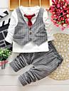 Fecioresc Fecioresc Set Îmbrăcăminte Primăvară / Toamnă Carouri Bumbac