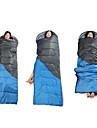 Sac de couchage Rectangulaire 5°C-15°C ° C Resistant a l\'humidite Etanche 210cmX75cm Chasse Randonnee Peche Plage Camping Voyage Interieur
