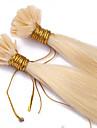 vente chaude fusion pre-colle u Astuce keratine extensions extension de cheveux 1g / brin clou cheveux 100s / lot couleur # 613 u Astuce
