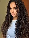 Remy kosa Full Lace Perika stil Brazilska kosa Kinky Curly Perika 130% 150% 180% Gustoća kose s dječjom kosom Prirodna linija za kosu Afro-američka perika 100% rađeno rukom Žene Srednja dužina Dug