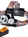 U\'King Pannlampor Framlykta LED 6000 LM 4.0 Läge Cree XM-L T6 - Hög Kraft Enkel att bära för Camping/Vandring/Grottkrypning