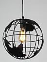 20cm vintage creatif globe terrestre pendentif lumieres salon restaurant chambre d\'enfant