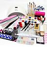 77pcs Ferramenta de arte de unhas Nail Art Kits e acessorios Nail Art Design