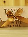 pernă carte de hârtie favoriza titular cu panglici favoare cutii-50 de nunti favoruri