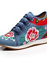 Damă Oxfords Confortabili Noutăți Pantofi brodate Pânză Primăvară Vară Toamnă Iarnă De Atletism Casual PlimbareConfortabili Noutăți