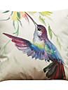 """set de 6 cerneală pasăre model de pernă de pernă acoperă acasă birou canapea squaredecorative (18 """"* 18"""")"""
