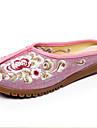 Dame Pantofi Flați Primăvară Vară Toamnă Confortabili Lenjerie Outdoor Casual Toc Plat Albastru Roz Gri Bej