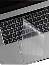 xskn® teclado TPU pele e barra de toque protetor de ultra-fino e transpar para 2016 mais novo MacBook Pro de 13,3 / 15,4 com barra de
