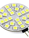 3W 260lm G4 LED a Double Broches T 24 Perles LED SMD 5050 Blanc Chaud Blanc Froid 12V