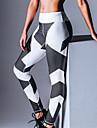 Dame Imprimeu Polyester,Mediu Imprimeu Legging Acest Stil este în CONCORDANȚĂ cu MĂRIMEA.