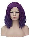 Syntetiskt hår peruker Utan lock Karneval peruk Halloween Paryk Partyperuk Naturlig peruk Korta