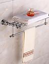 Bathroom Shelf Modern Brass 1 pc - Hotel bath Double