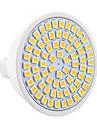 ywxlight® 7w gu5.3 (mr16) lumina reflectoarelor led mr16 72 smd 2835 500-700 lm cald alb rece rece alb natural decorativ