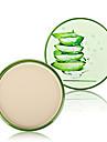 Poudre Sec Poudre Compact Couverture Correcteur Naturel Visage