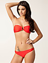 Femei Bikini Femei Bustieră Solid Mulată Nailon Spandex