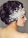 imitație păr perla pieptene flori cercei clasic feminin