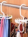 verstelbare 20-haaks roterende riem rek sjaal organizer heren stropdas hanger houdt