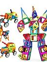 Bloc magnetic / Lego / Μοντέλα και κιτ δόμησης 96pcs Mașină / Robot Magnetic Fete Cadou