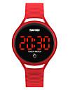 SKMEI Ceas Sport Ceas de Mână Ceas digital Japoneză Digital Negru / Albastru / Roșu 30 m Rezistent la Apă Cool Piloane de Menținut Carnea femei Modă - Albastru Închis Galben Rosu Doi ani Durată de