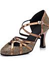 Modern-Pantofi de dans(Maro) -Personalizabili-Damă