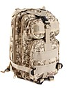 Backpack 25 L - Waterproof Wearable Multifunctional Outdoor Camping / Hiking Leisure Sports Traveling Camouflage Brown