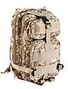 25 L mochila Multifuncional Prova-de-Agua Vestivel Resistente ao Choque Ao ar livre Acampar e Caminhar Esportes Relaxantes Viajar camuflagem Brown
