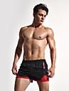 Bărbați Larg Șic Stradă Activ Sexy Simplu Talie Medie,Inelastic Pantaloni Sport Pantaloni Scurți PantaloniAmestec de culori Modă Peteci