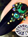 1 pcs Glitters / Neon et lumineux / Mode Quotidien Nail Art Design / Acrylique / Metal