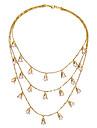 Pentru femei Coliere Layered Geometric Shape Design Unic costum de bijuterii Bijuterii Pentru Zilnic