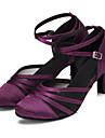 Modern-Pantofi de dans(Negru Mov) -Personalizabili-Damă