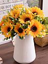 Kunstbloemen 1 Tak Pastoraal Stijl Zonnebloemen Bloemen voor op tafel