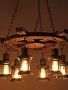 6-Light Industrial Lumini pandantiv Lumină Spot - Stil Minimalist, 110-120V / 220-240V Becul nu este inclus / 20-30㎡ / E26 / E27