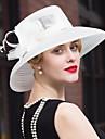 Pană Tul In Diadema-Nuntă Ocazie specială Informal Pălărioare Pălării/Căciuli 1 Bucată