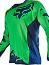 Zorro motocicleta off-road camiseta manga larga traje de equitacion velocidad de los deportes al aire libre ropa casual