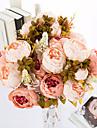 1 ramură Poliester Bujori Față de masă flori Flori artificiale