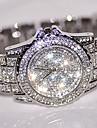 Pentru femei Ceas Elegant  Ceas La Modă Ceas de Mână Unic Creative ceas Simulat Diamant Ceas Ceasuri Pave Chineză Quartz Stras / Oțel