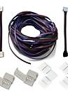 A conectorilor setați conectori kituri complete pentru a decupa jumperul conectorul colțului în formă de l rgb cablul prelungitor bara