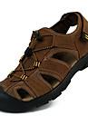 Bărbați Pantofi Piele Primăvară / Vară Confortabili Sandale Pantofi Upstream Maro Deschis
