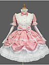 Doux Princesse Femme Fille Robes Cosplay Mancheron Manches Courtes Courte / Mini