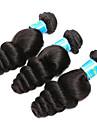 Vietnamesiskt hår Löst vågigt Hårförlängning av äkta hår 3 delar 3 delar 0.3