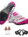 BOODUN® Femme Chaussures de Velo de Route Nylon, Fibre de verre, sorties de circulation d\'air, semelle antiderapante Cyclisme / Velo