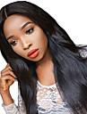 Obehandlat Hel-spets Peruk Brasilianskt hår 130% Densitet Afro-amerikansk peruk Naturlig hårlinje Lång Dam Äkta peruker med hätta