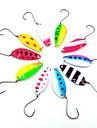 10 st Metallbete Metallbete Metallisk Metall Kastfiske Spinnfiske Jiggfiske Färskvatten Fiske Andra Trolling & Båt Fiske Generellt fiske
