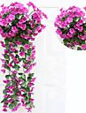 Konstgjorda blommor 1 Gren Pastoral Stil Plantor Väggblomma