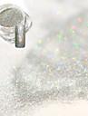 1 Akrylpulver Glitterpulver Puder Elegant & Lyxig Nail Glitter Glitter och glans Nail Art Design