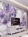 Mural Toile Revetement - adhesif requis arbres / Feuilles Decoration artistique 3D Print